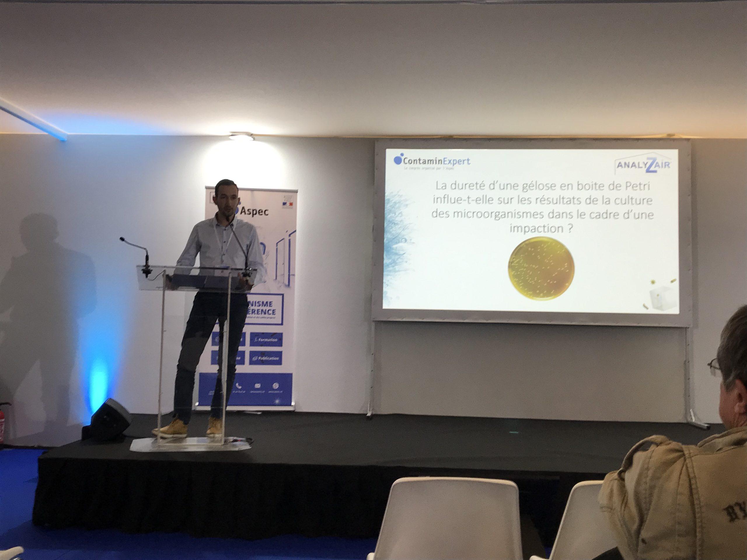 Analyzair était présent au congrès scientifique et technique ContaminExpert